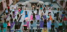 Cherry St. Rooftop Yoga